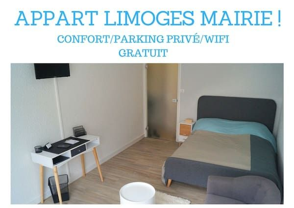 Ausgestattete Ferienwohnung in Limoges