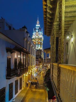 Alojamiento atractivo en Cartagena de indias