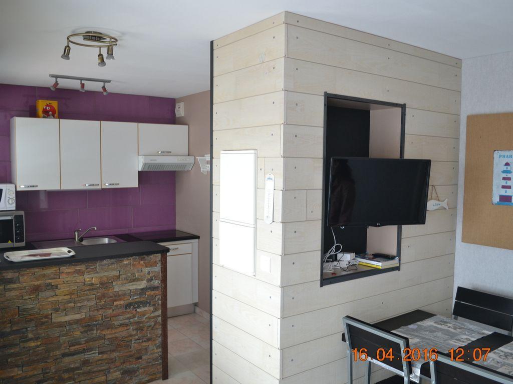 Apartment für 4 Gäste in Le portel