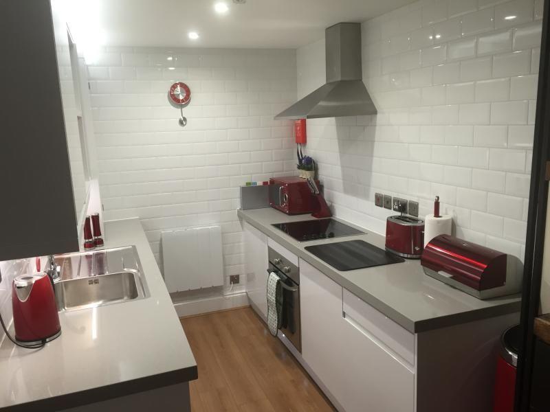Practical apartment with garden