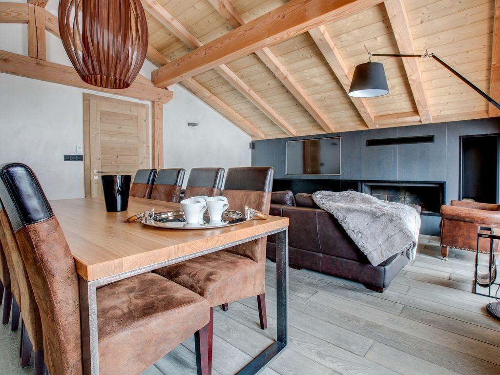 Apartamento de 4 habitaciones con jardín