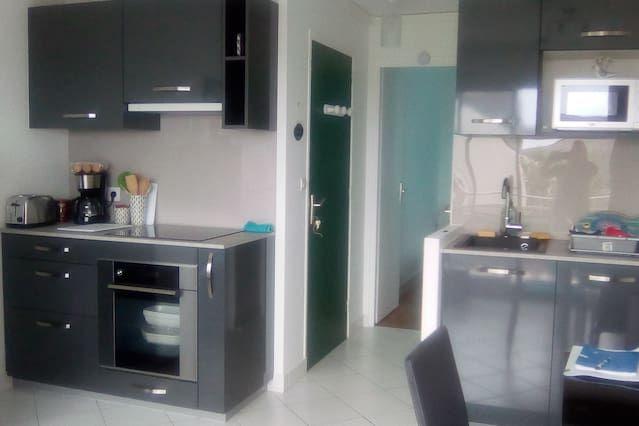 Apartamento de 27 m² de 1 habitación