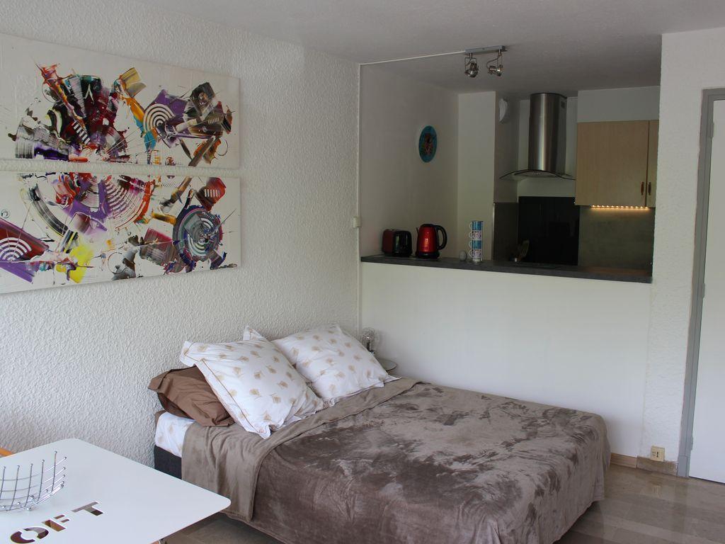 Apartamento cómodo de 28 m²