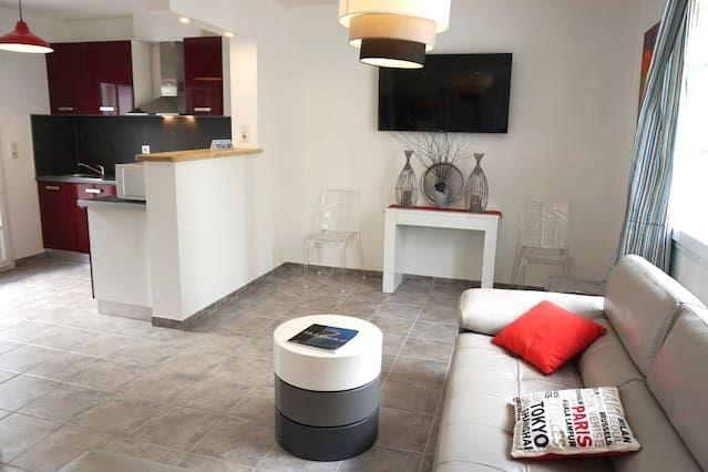 Alojamiento hogareño de 93 m²