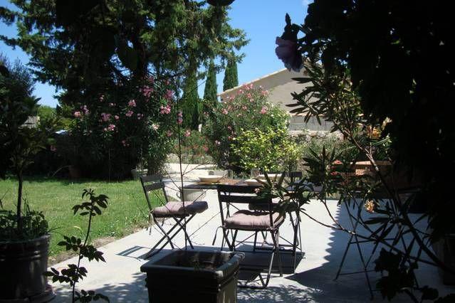 Apartamento para 4 huéspedes con jardín