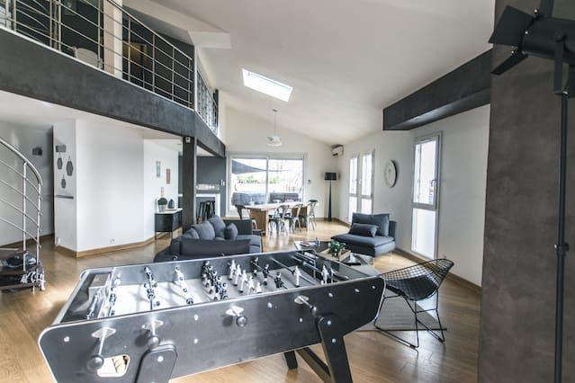 Alojamiento con jardín de 180 m²