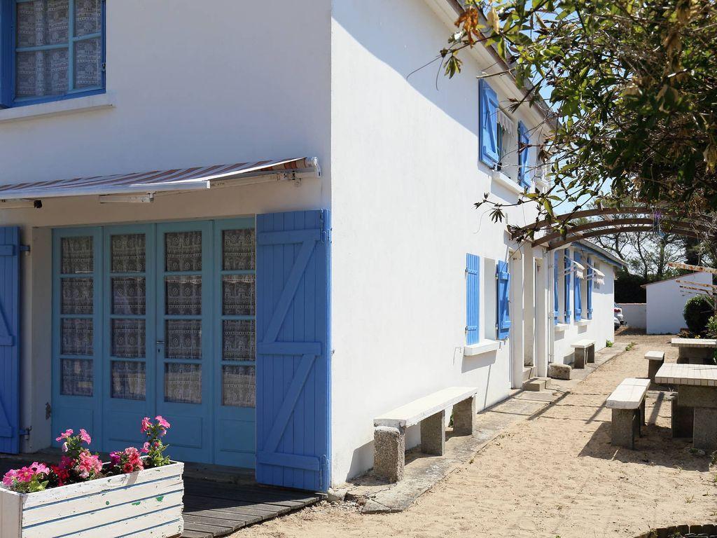 Appartement pour 2 voyageurs à Barbâtre