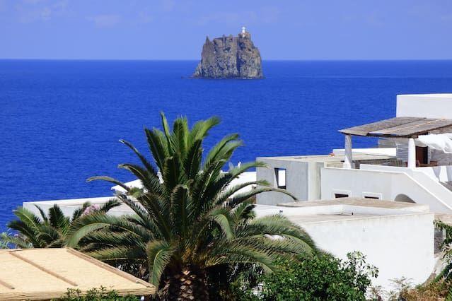 Residencia con vistas en Stromboli