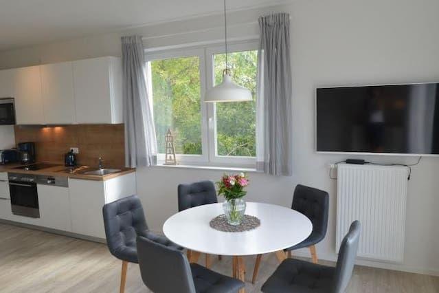 Eingerichtetes Apartment in Wangerooge