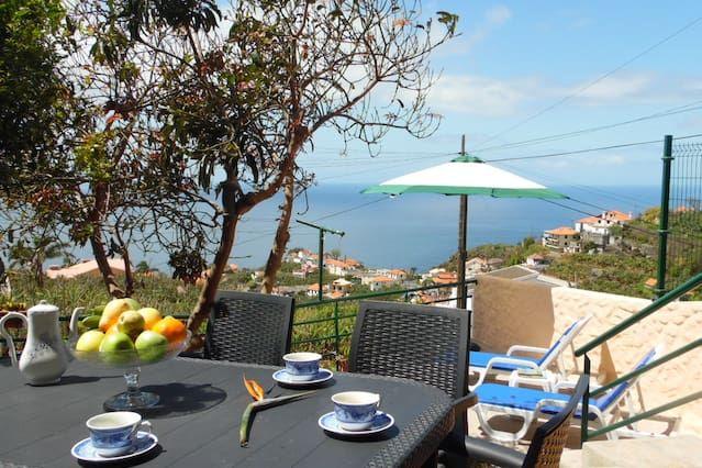Residencia en Ponta do sol con jardín