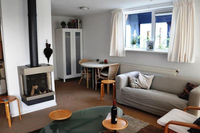 Ferienwohnung mit 3 Zimmern und Garten