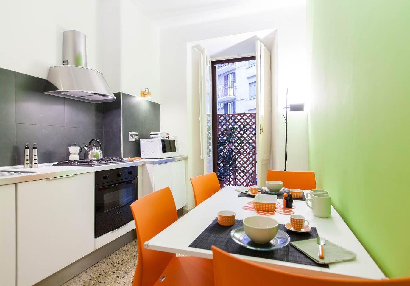 Apartamento original para 5 personas en Roma