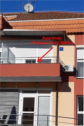 With views flat in Sveti martin na muri