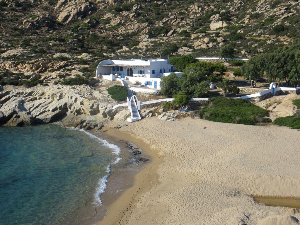 Equipada casa en Ios island