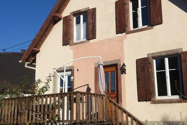 Casa para 11 personas en Selestat
