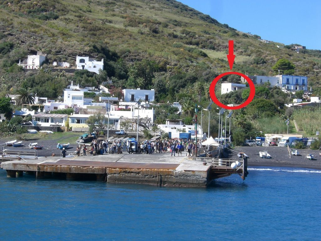 Vivienda en Stromboli de 2 habitaciones