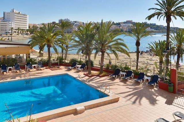 Flat in Ibiza ciudad with balcony