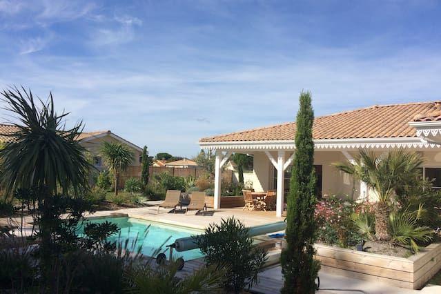Casa de vacaciones en Talais, Aquitania - 8 personas, 4 dormitorios