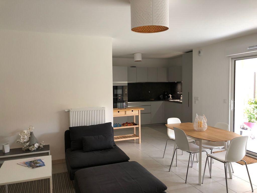 Apartamento equipado de 69 m²