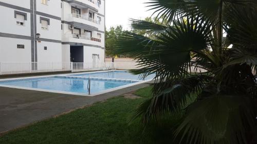 Vivienda de 1 habitación con piscina