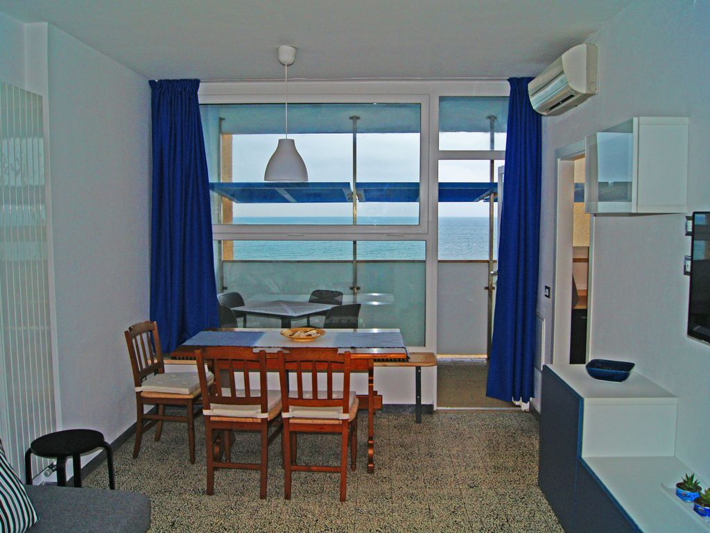 Alojamiento para 4 personas con balcón