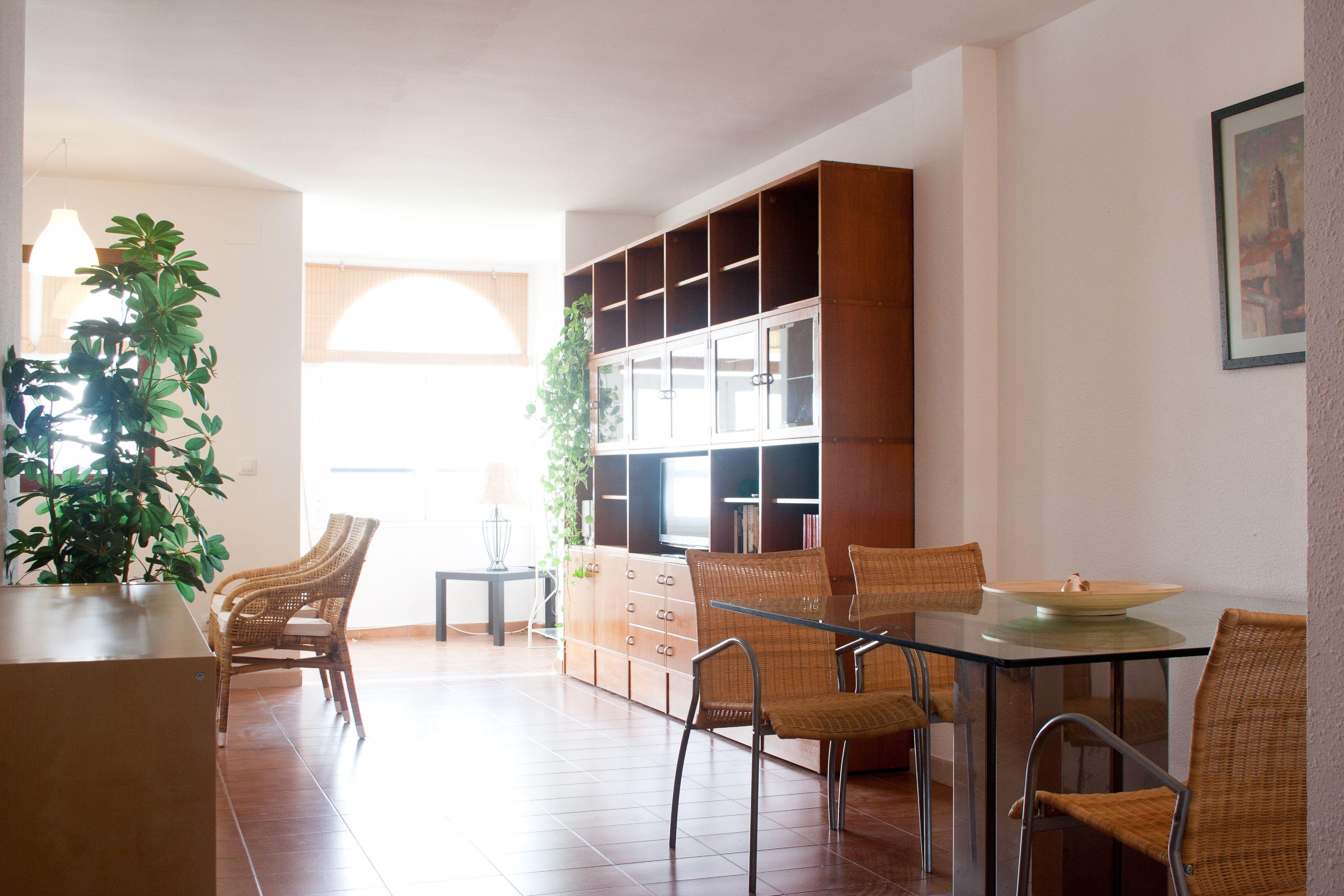Apartamento atractivo en Málaga con  AC
