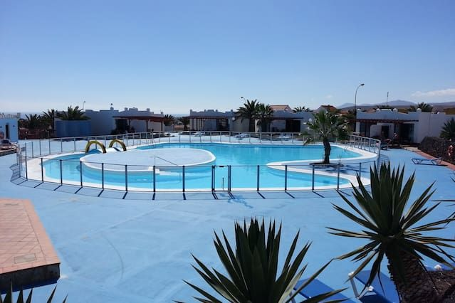 Holiday rental in Caleta de fuste with swimming pool