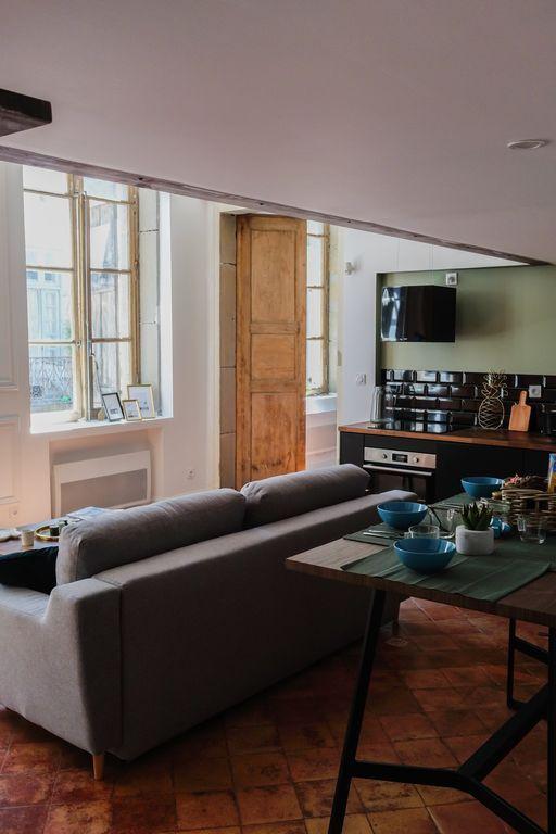 Apartment mit inklusive Parkplatz für 4 Gäste