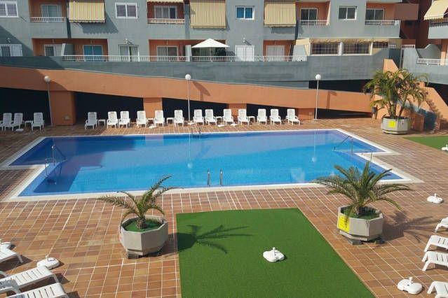 Apartamento con piscina cerca dela playa