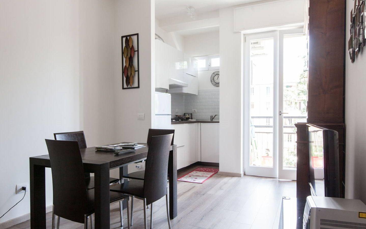Apartamento luminoso en Milán para 4 personas