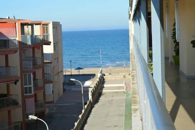 Apartamento playa ideal familias y Amigos.