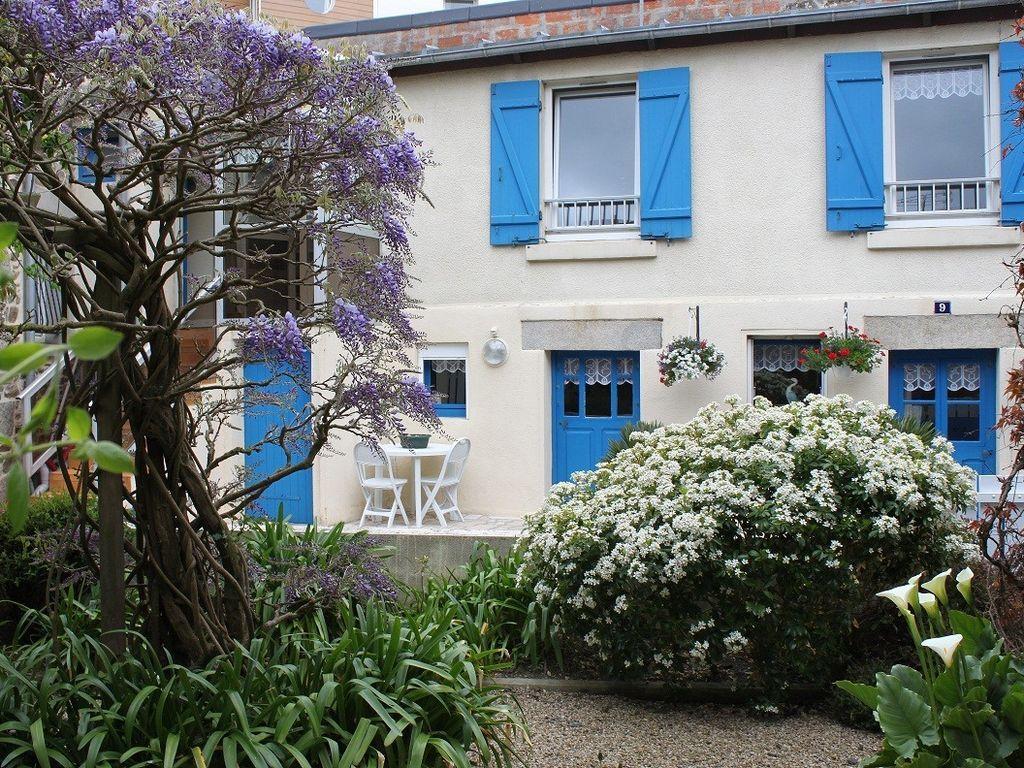 Apartamento para 4 personas con jardín
