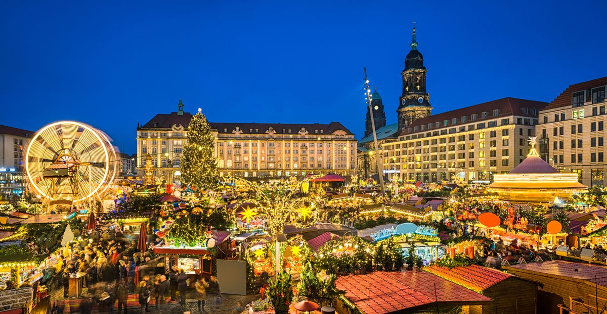 Dresde marché de Noël