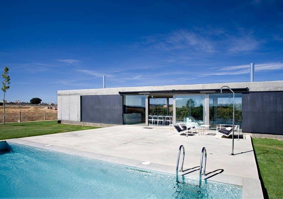 casa vacacional con piscina en león.