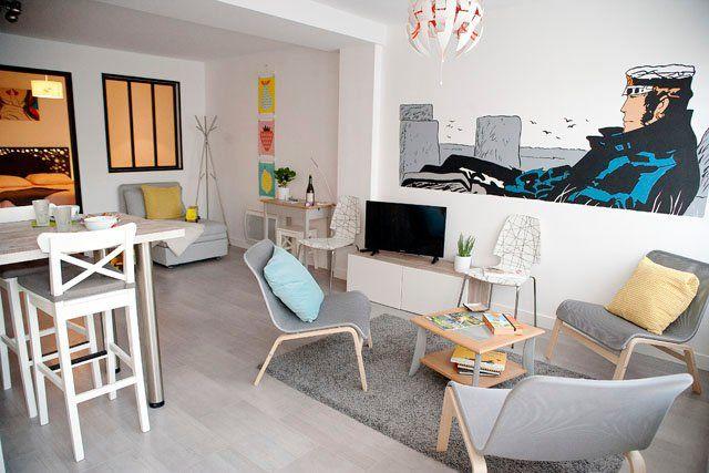 Vivienda con balcón en Vannes