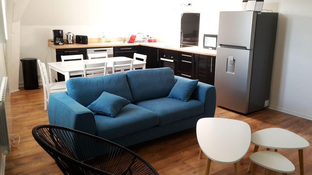 Provisto piso para 6 huéspedes