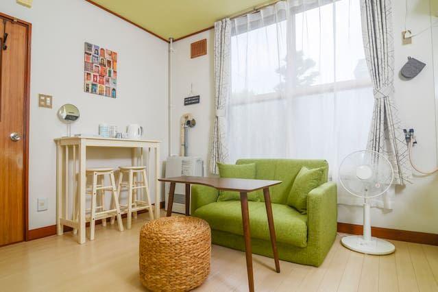 Logement de 1 chambre à Sapporo