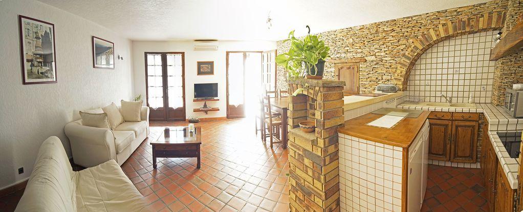 Alojamiento con jardín en Anduze