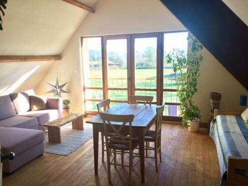 Chalet mit 1 Zimmer und Garten