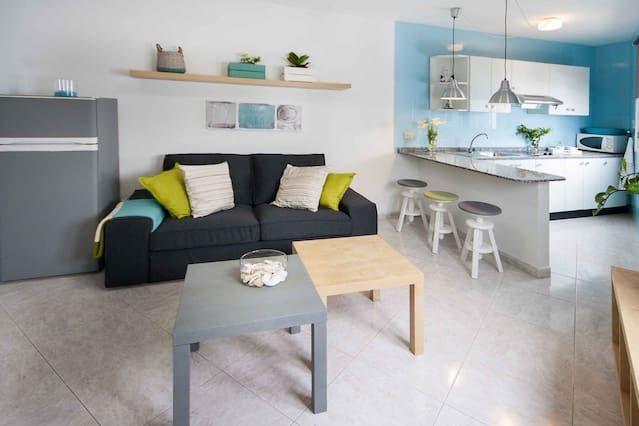 Alojamiento para 4 huéspedes con jardín