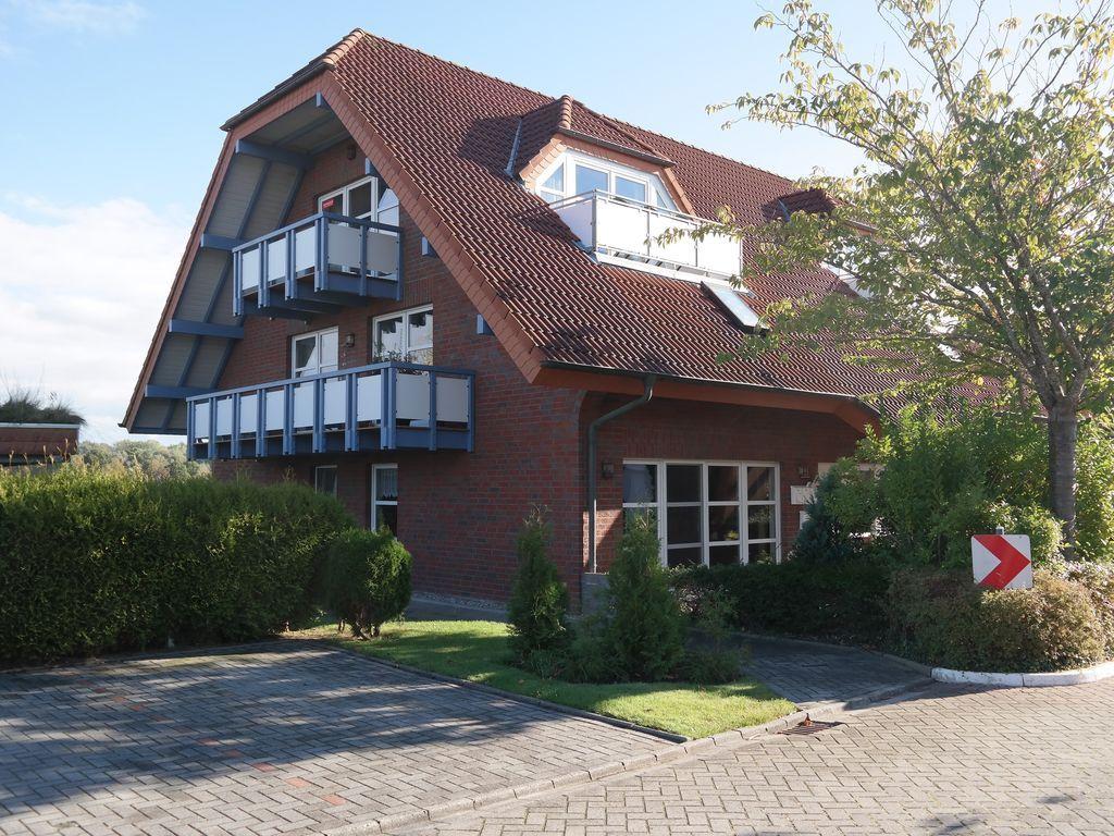 Wohnung in Dornum mit 1 Zimmer