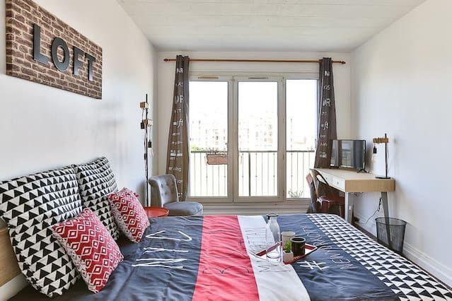 Logement à Champigny-sur-marne avec 1 chambre