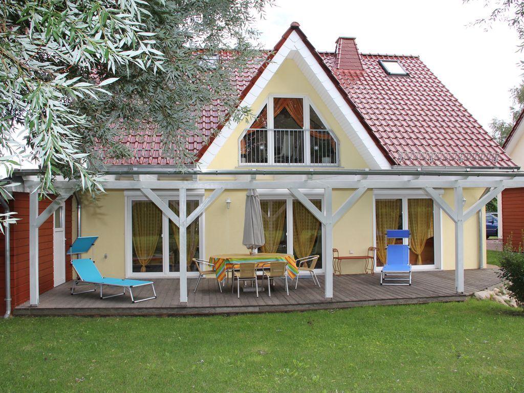 Unterkunft in Langendorf mit Balkon