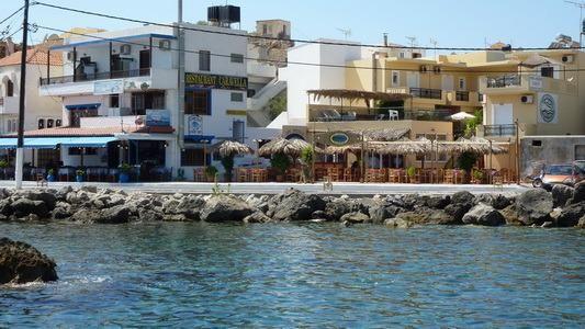 Alojamiento en Paleochora con balcón