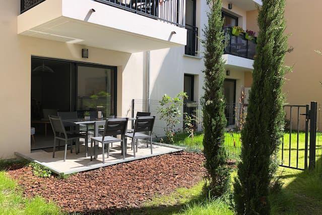 Práctico apartamento en Arcachon