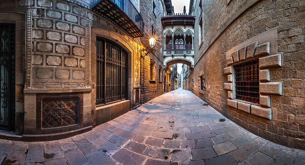 quartier gothique barcelone