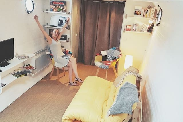 Provista residencia de 1 habitación