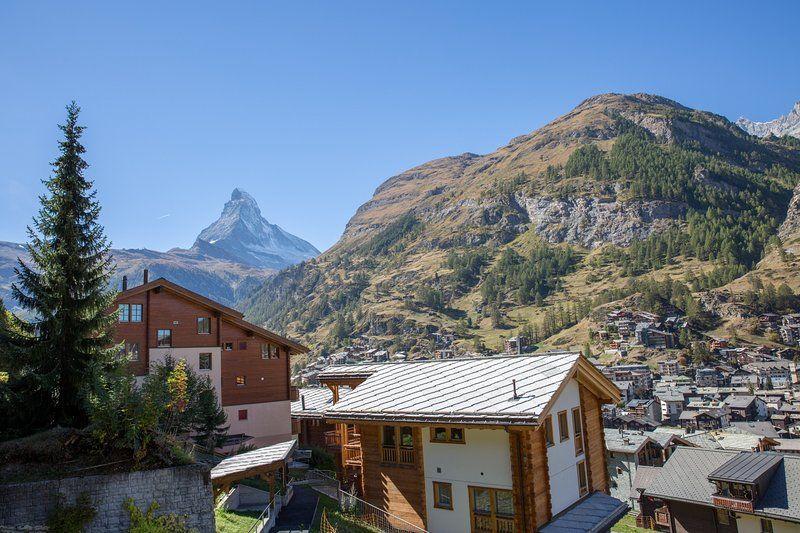 Alojamiento en Zermatt con balcón