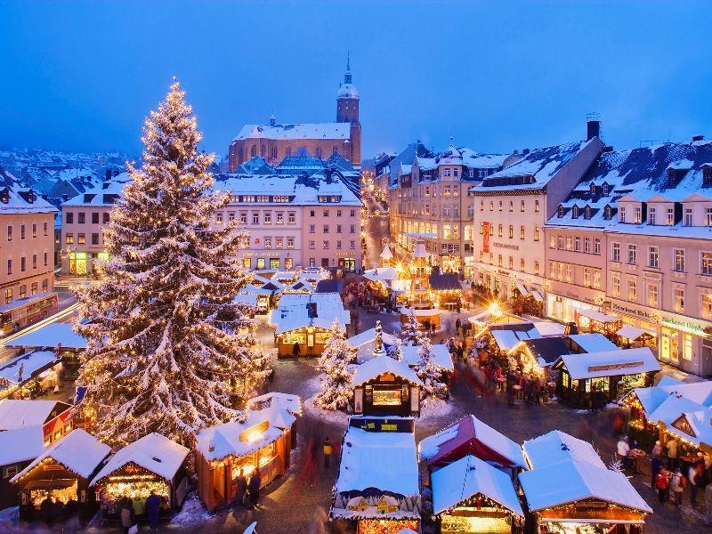 Mercado de Navidad Estocolmo