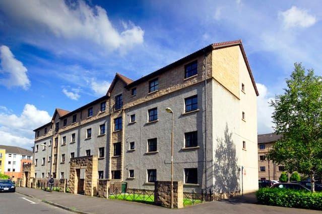 Luminoso alojamiento vacacional para 5 huéspedes en Edimburgo